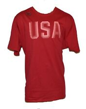 NEW NIKE USA Olympic Team RED Training T-shirt United States MENS 2XL 2X-LARGE