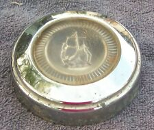 1949-50 PLYMOUTH HORN BUTTON GRILLE EMBLEM