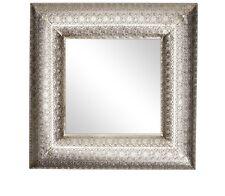 Marocchino Oriental antico metallo argento quadrato ORNATA Hall SPECCHIO NUOVO 56cm REGALO