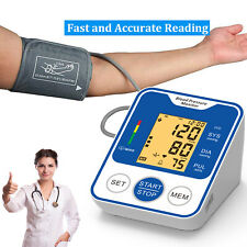 Automatic Digital Wrist Blood Pressure Monitor BP Cuff Machine Home Pulse Meter