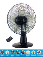 Nu Tec 30cm DC Desk Fan 9 Speed Settings/Touch Control Panel/8h Timer/Remote