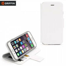 iPHONE 6 & 6S WHITE WALLET & STAND HIGH PROTECTION CARD POCKETS GRIFFIN GB40890