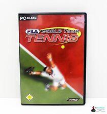 PC Computer Spiel - FILA WORLD TOUR TENNIS - Win98, 2000, XP - Komplett in OVP