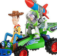 Disney Store Parks Toy Story Buzz Lightyear & Woody RC Car Sketchbook Ornament