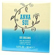 Sui Dreams by Anna Sui  Perfume  30ml Eau De Toilette EDT Spray  NEW & SEALED