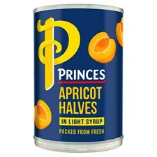 Princes Apricot Halves in Light Syrup 410g x 6 177755