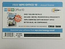 Kingsoft WPS Office 10 One Year License Compatible MS Office
