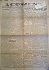 WW1 @IL GIORNALE OTTOBRE 1918 GLI INGLESI PASSANO LA LYS -LOTTA IN FIANDRA - 693