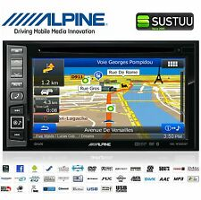 "ALPINE ine-w990bt doble DIN 6.1"" GPS RADIO / DVD/CD/MP3 Bluetooth Integrado"
