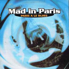 CD single: Mad in Paris: paris a le blues. 2 titres. BMG. D6