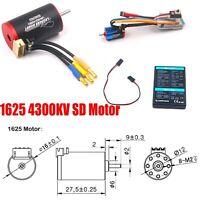 1625 4300KV SD Motor w/ 45 ESC Brushless Sensored Combo fit for RC 1/24 Mini-Q