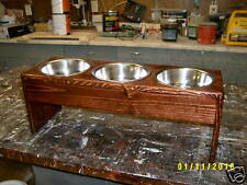 """New listing 10"""" Pet Feeder Bowls With 2Qt Bowls Free Name And Color"""