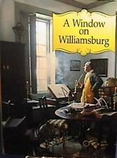 1983 A WINDOW ON WILLIAMSBURG HCDJ PHOTO 2nd ED VG COND