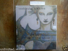 The Sky: The Art of Final Fantasy Slipcased Edition by Yoshitaka Amano Brand New