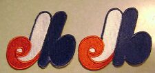 Lot of 2  Montreal Expos  Embroidered Patch Free ship USA