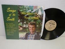 MICHAEL ANDERSON Songs Of The South LP (1977) Private label country singer