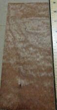 """Sapele Pommele wood veneer 4"""" x 9"""" with no backing (raw veneer)"""