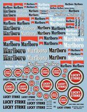 DECALS MARLBORO / LUCKY STRIKE TOUTES ECHELLES 19 X 15cm - COLORADO DCD021