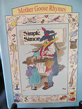 Simple Simon [Mother Goose Rhymes] HCDJ 1995 minature LN RARE