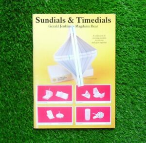 Sundials And Timedials - Science & Technology Craft Cut-Out Models Construction