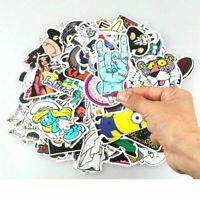 Lot 100Pcs Sticker Bomb Decal Vinyl Roll For Car Skateboard Laptop Luggage Decal