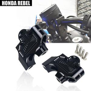 HANDLE BAR RISE UP RISER CLAMP FIT FOR HONDA REBEL CMX 250 300 500 1100 17-2021