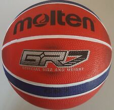 Molten BGR Premium Rubber Basketball - Red and Blue Men's Size 7 - 29.5