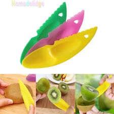3Pcs Plastic Fruit Kiwi Gadget Kitchen Utensil Peeler Cutter Spoon Slicer Tools
