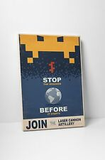 "Stop The Invasion by Steve Thomas Gallery Wrapped Canvas 16""x20"""