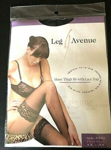 Leg Avenue Thigh Hi stockings with Lace Top