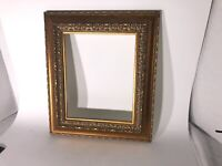 Contemparary Ornate Gold Gilt Wood Picture Frame 8 x 10 See Pics Nice