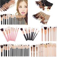 Pro Makeup Brushes Set Foundation Powder Eyeshadow Eyeliner Lip Brush Tools Kit