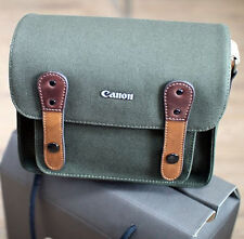 Canon Rebel T5i T4i T3i SL1 T5 T3 D-SLR Canvas Camera Case Bag w/ Shoulder Strap