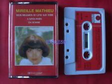 Cassettes audio Mireille Mathieu chanson française