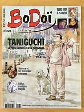 BoDoï n* 108 - Taniguchi, Delaby, Hausman, Liberge, ... Revue BD