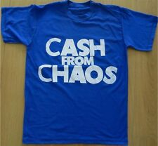 Seditionaries CASH FROM CHAOS Shirt Pistols McLaren Punk Manifesto all sizes