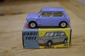 Corgi Mini Minor Morris Boxed No 226