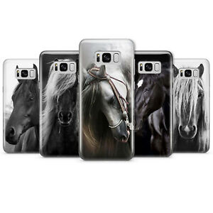 Horse Cute Animal Phone Case Cover For Samsung Plastic S10 S10+ S20 S20+ G10