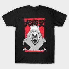 Inuyasha Sit Down Cute Sesshomaru Demon Dog Japanese Anime Funny Black T-Shirt