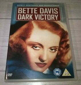 Dark Victory Bette Davis Humphrey Bogart Genuine R2 DVD VGC