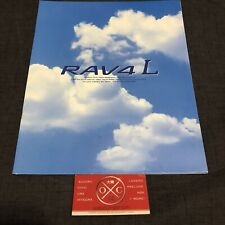 95-00 Toyota RAV4 Brochure JDM Catalog 94 96 97 98 99 XA10 L J Soft Top 3Door