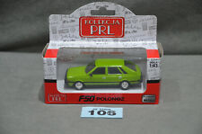 FSO Polonez 1500 Poland Classic Car 1:43 Diecast Model Green Colour New In Box
