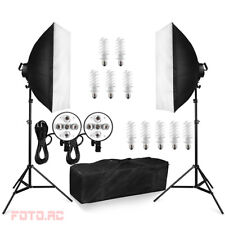 1900W Kit Illuminazione Luce Continua Soft Box Softbox Studio Set Fotografia