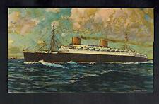 Mint Ship Picture Postcard SS Europa Passenger Liner Steam Ship John McHale
