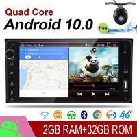 2 DIN For RAV4 Camry Corolla Vitz Echo Android 10 Car Stereo GPS Navi Head Unit