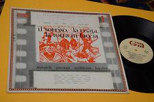 TROVAJOLI PICCIONI MORRICONE LP IL SORRISO LA RISATA....1°ST ORIG 1978 EX+