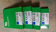 """Fujifilm Provia RDP 100  4 x 5"""" - 10 Sheets  Exp. 09/92 vtg  (price per box)"""