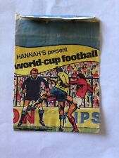 Football WORLD CUP FOOTBALL 1978 Empty Monty Gum Packet
