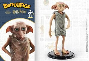 Bendyfigs Dobby Figure 19cm Harry Potter Figurine - The Noble Collection