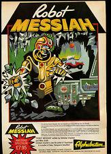 ROBOT Messia, alphabatim, spettro/Amstrad, 1985 RIVISTA annuncio #17843
